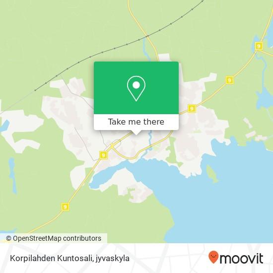 Korpilahden Kuntosali karta
