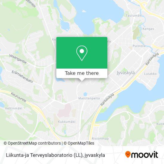 Liikunta-ja Terveyslaboratorio (LL) karta