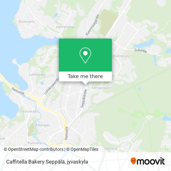 Caffitella Bakery Seppälä karta