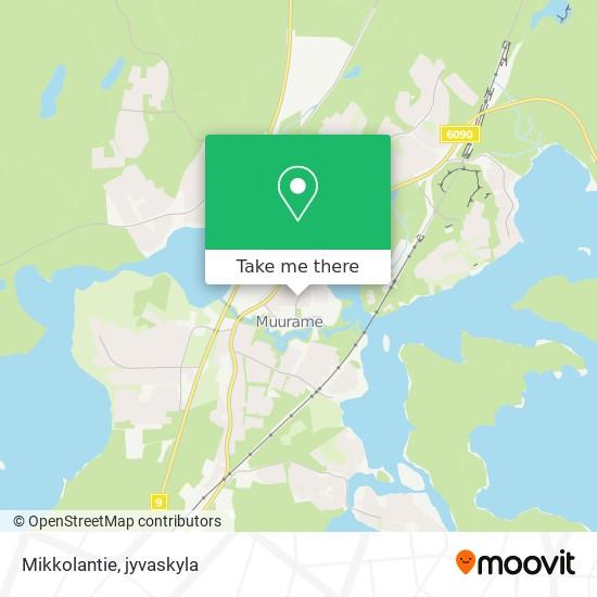 Mikkolantie karta