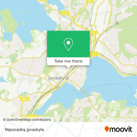 Reporanka map