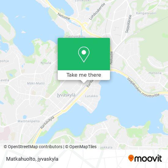 Matkahuolto karta