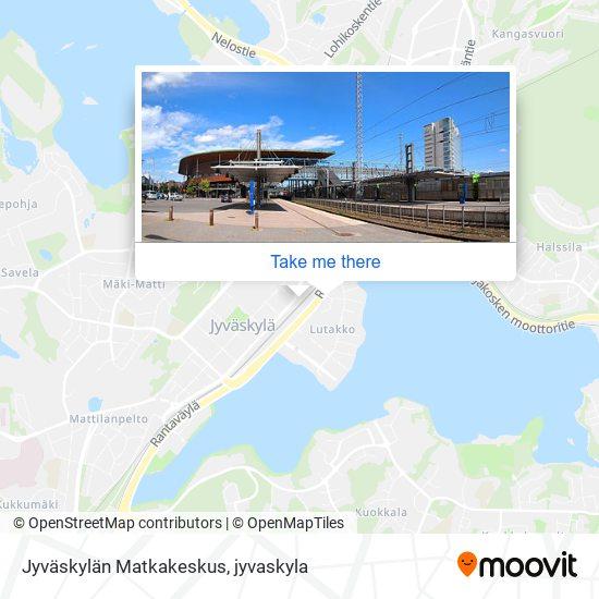 Jyväskylän Matkakeskus karta