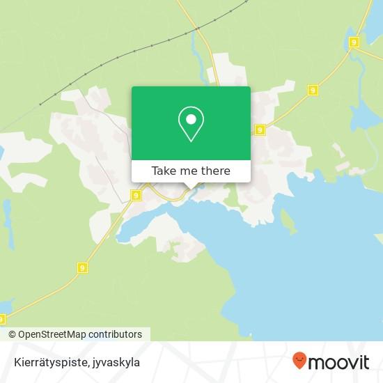 Kierrätyspiste karta