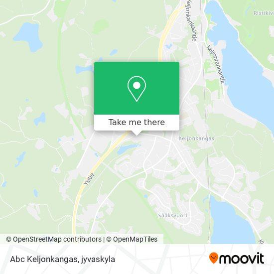 Abc Keljonkangas map
