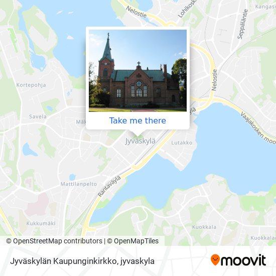 Jyväskylän Kaupunginkirkko map