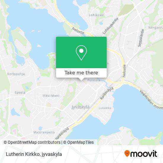 Lutherin Kirkko map