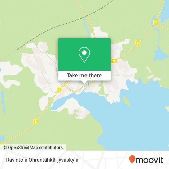 Ravintola Ohrantähkä karta