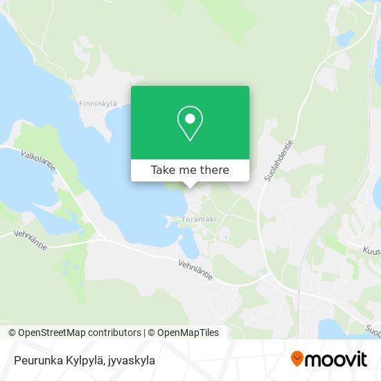 Peurunka map