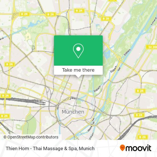 Hauptbahnhof münchen thai massage Manee Thai