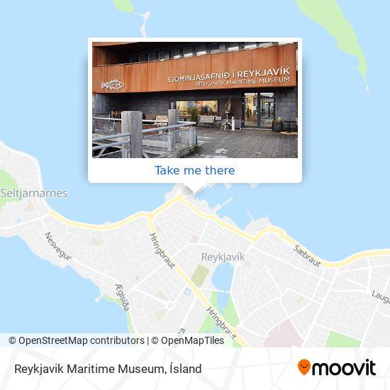 Reykjavik Maritime Museum map