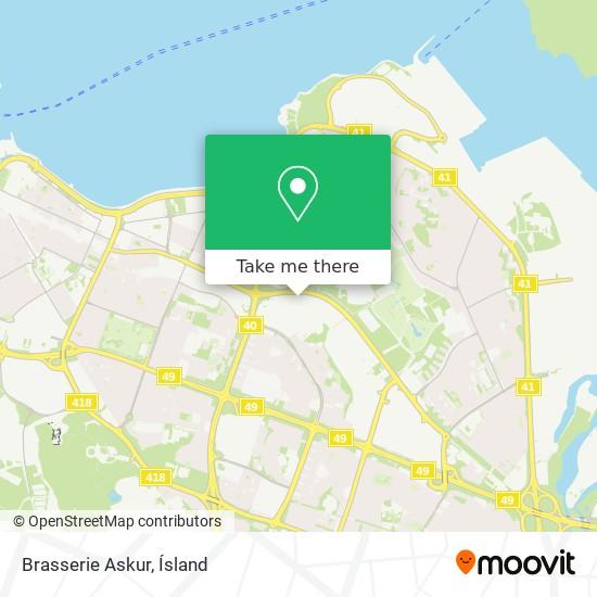 Brasserie Askur map