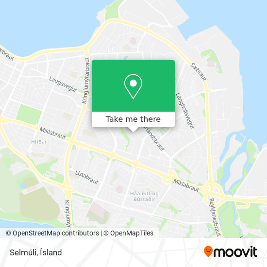 Selmúli map