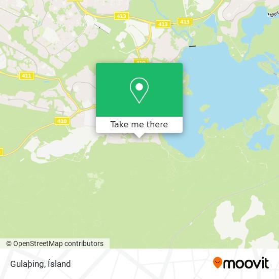 Gulaþing map