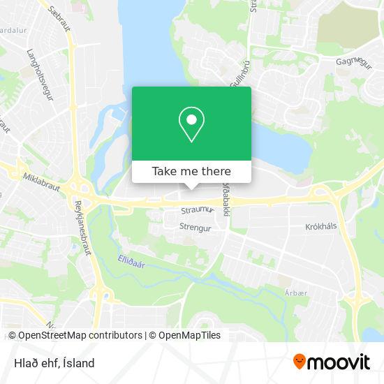 Hlað ehf map