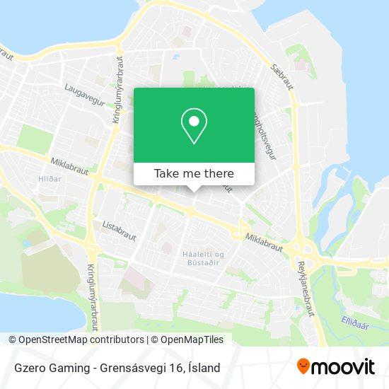 Gzero Gaming - Grensásvegi 16 map