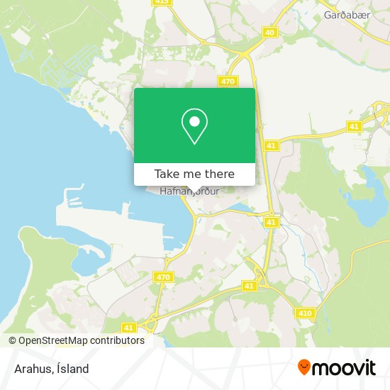 Arahus map