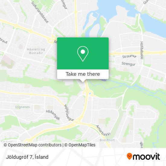 Jöldugróf 7 map