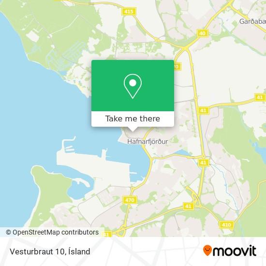 Vesturbraut 10 map