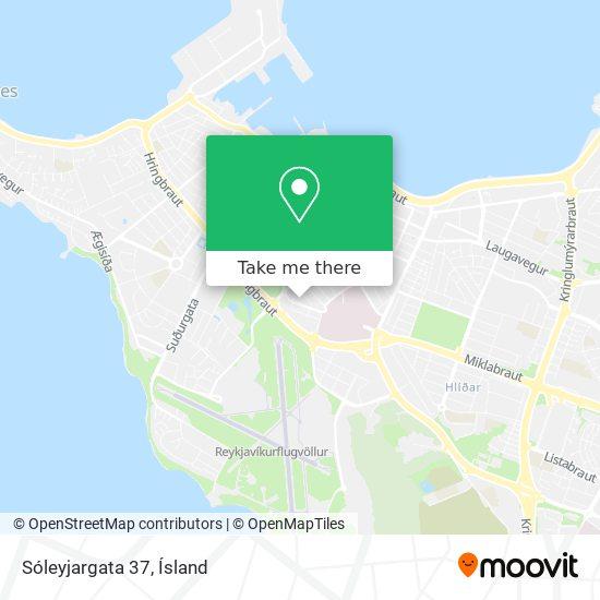 Sóleyjargata 37 map