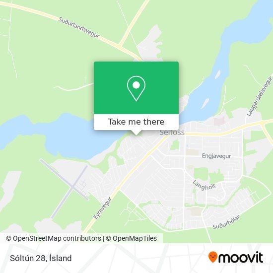 Sóltún 28 map