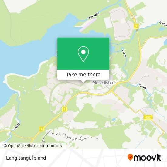 Langitangi map