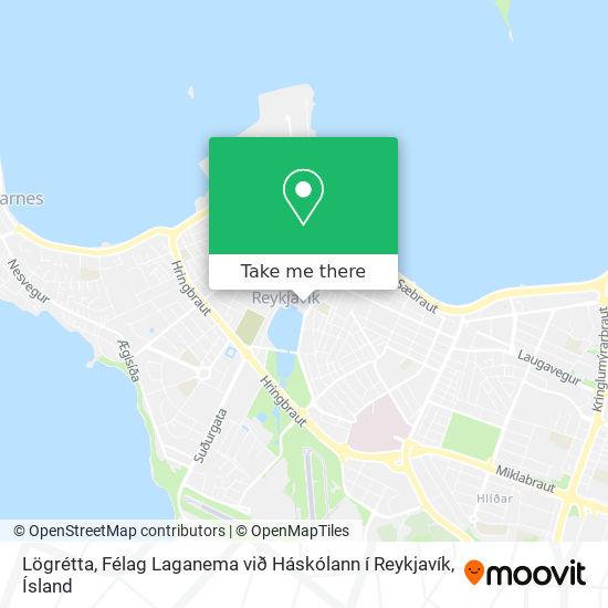 Lögrétta, Félag Laganema við Háskólann í Reykjavík map