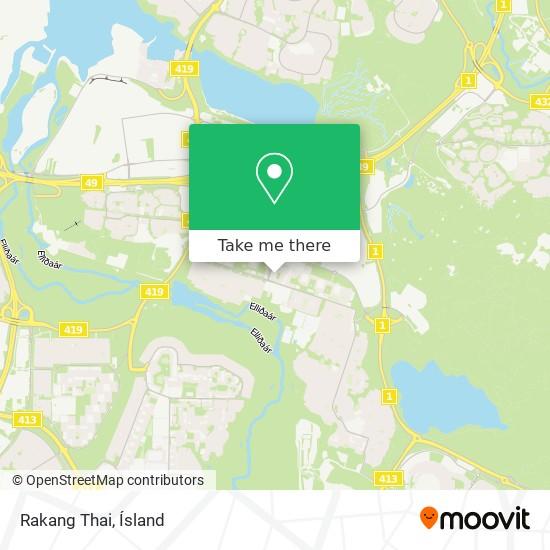 Rakang Thai map