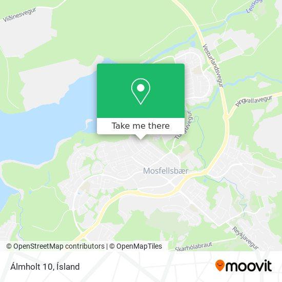 Álmholt 10 map