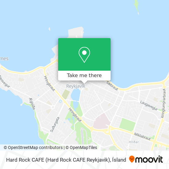 Hard Rock CAFE map