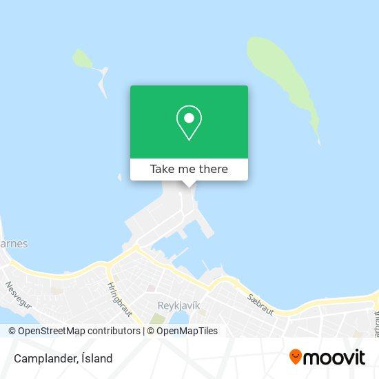Camplander map