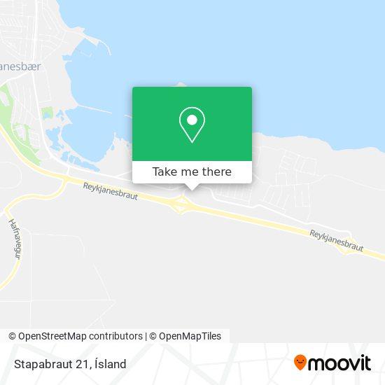 Stapabraut 21 map