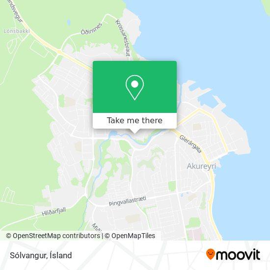 Sólvangur map