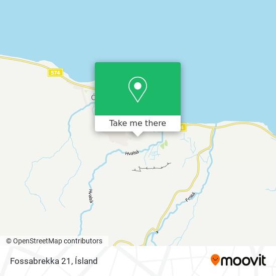 Fossabrekka 21 map
