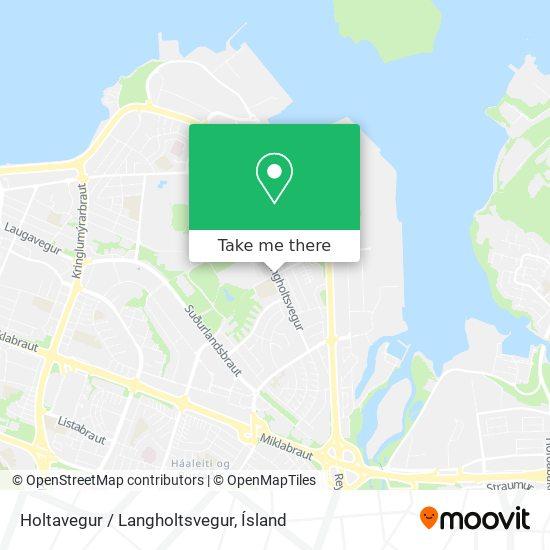Holtavegur / Langholtsvegur map