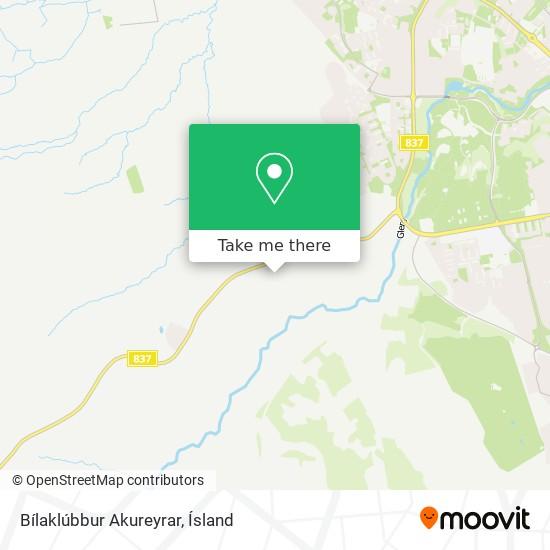 Bílaklúbbur Akureyrar map