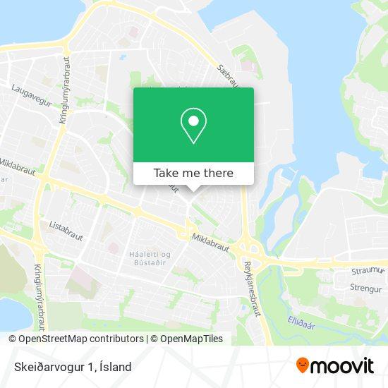 Skeiðarvogur 1 map