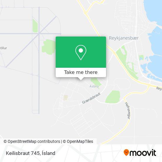 Keilisbraut 745 map