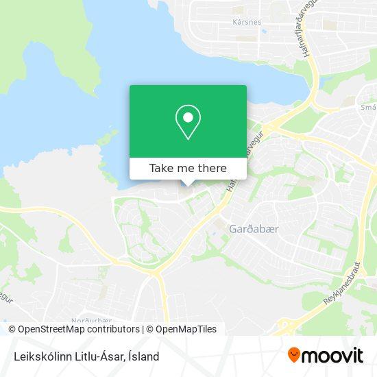 Leikskólinn Litlu-Ásar map