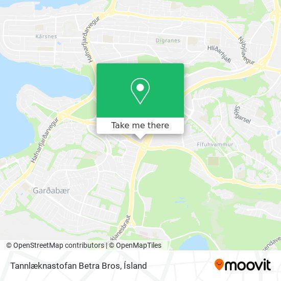 Tannlæknastofan Betra Bros map
