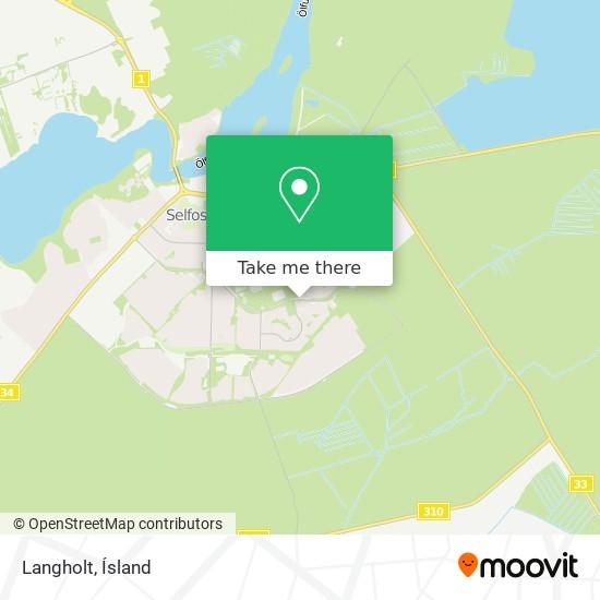Langholt map