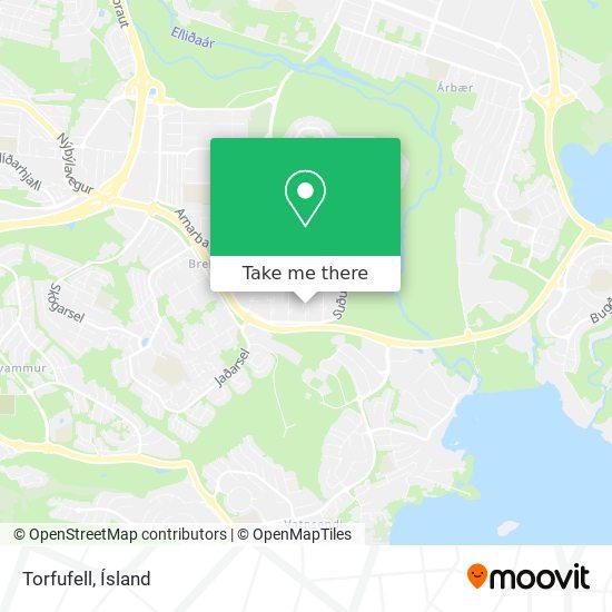 Torfufell map