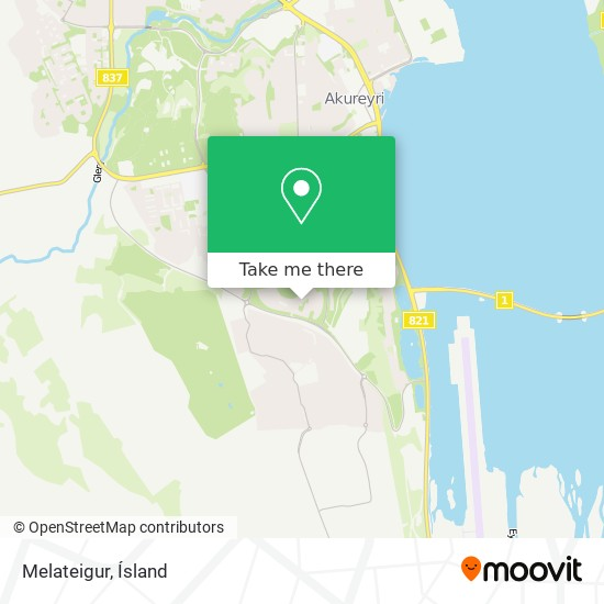 Melateigur map