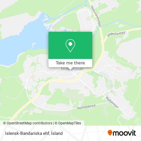 Islensk-Bandariska ehf map
