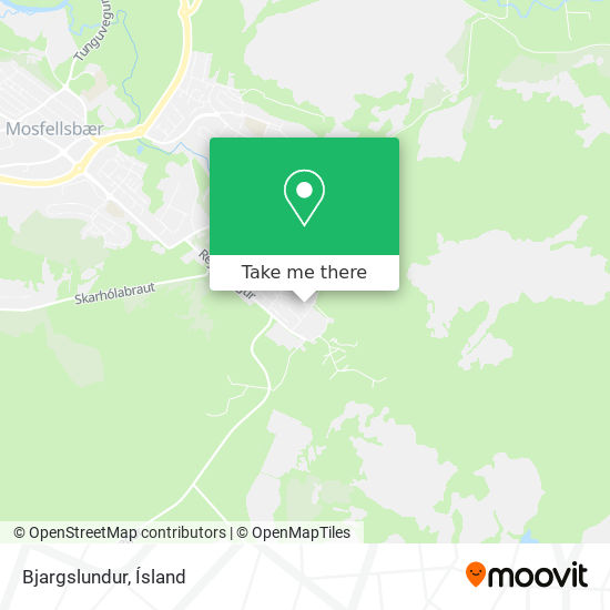 Bjargslundur map