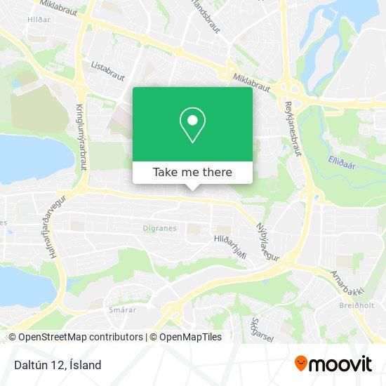 Daltún 12 map