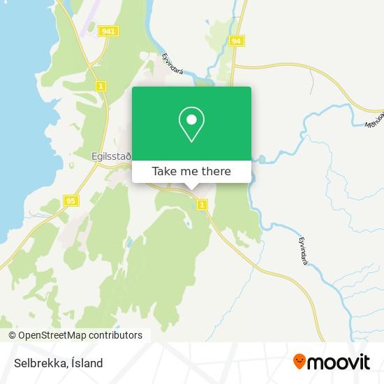 Selbrekka map