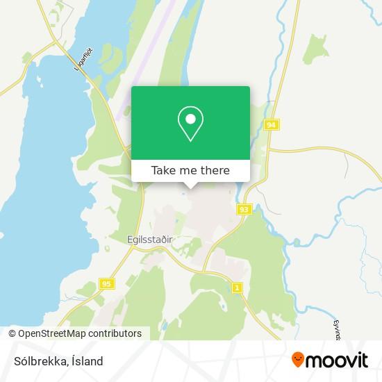 Sólbrekka map