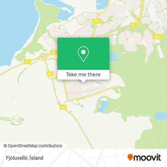 Fjóluvellir map