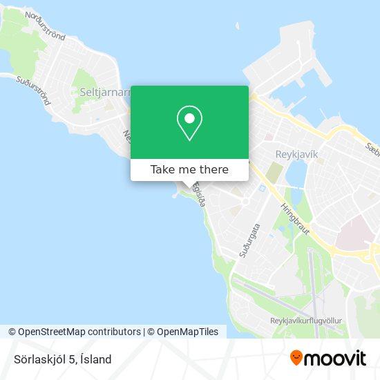Sörlaskjól 5 map